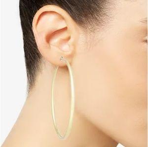Gold Tone Hoop Earrings INC
